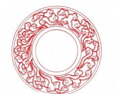 中國風花紋
