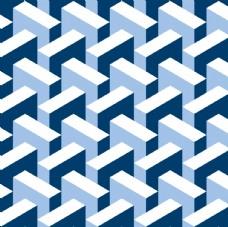 迷宫几何平铺背景图