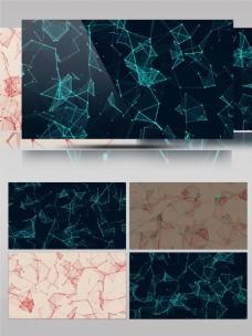 科技科幻动感信息空间背景通用素材