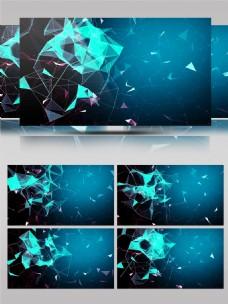 科技科幻菱形空间动感舞台通用背景