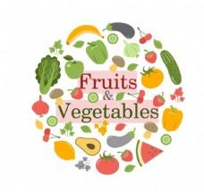 水果蔬菜背景