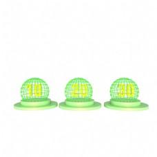 绿色球状型优惠券