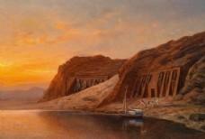 风景    油画